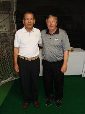 Katsuhiro Miura and Trevor Parkinson